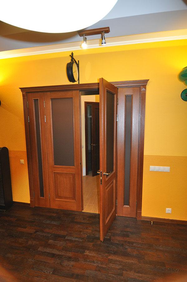 4-х створчатая дверь